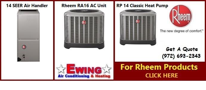 New Rheem AC Systems in Dallas Texas